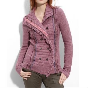 Free People Cuddle Bear Cozy Admirals Sweater